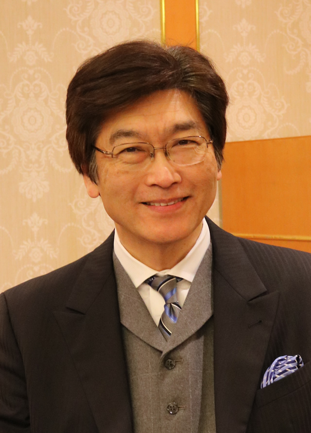 伊藤塾塾長・弁護士の伊藤真さんの写真